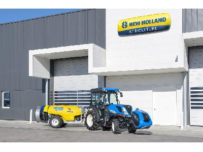 New Holland Agriculture impulsa su agenda sostenible.